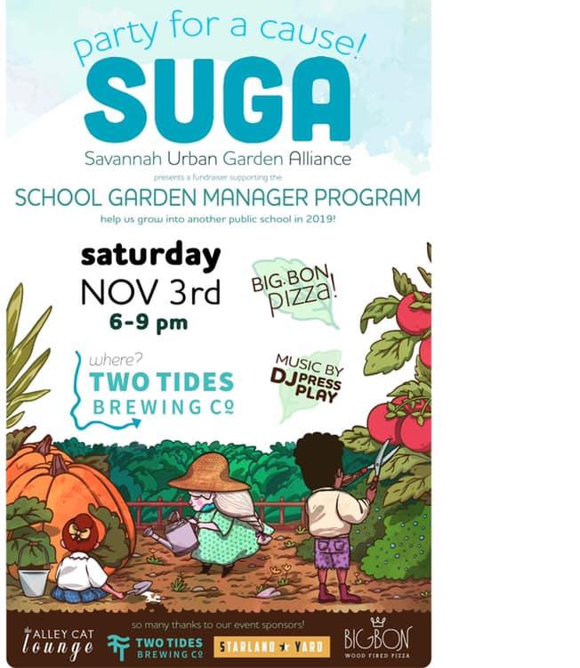 SUGA Savannah school gardens