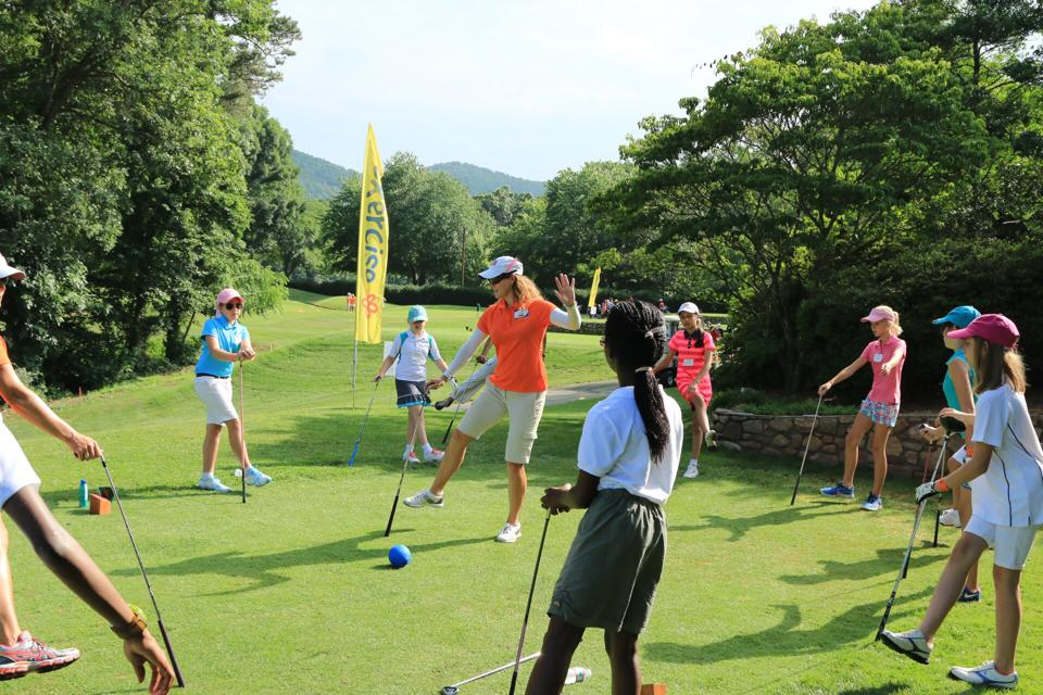 Girls Golf Clinics Classes Leagues in Savannah Swing Studio