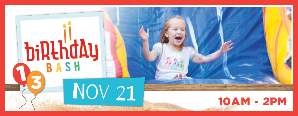 Sandbox Children's Museum HIlton Head Birthday Bash 2018