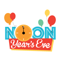 Noon Year's Eve Sandbox Children's New Year's event Hilton Head 2018