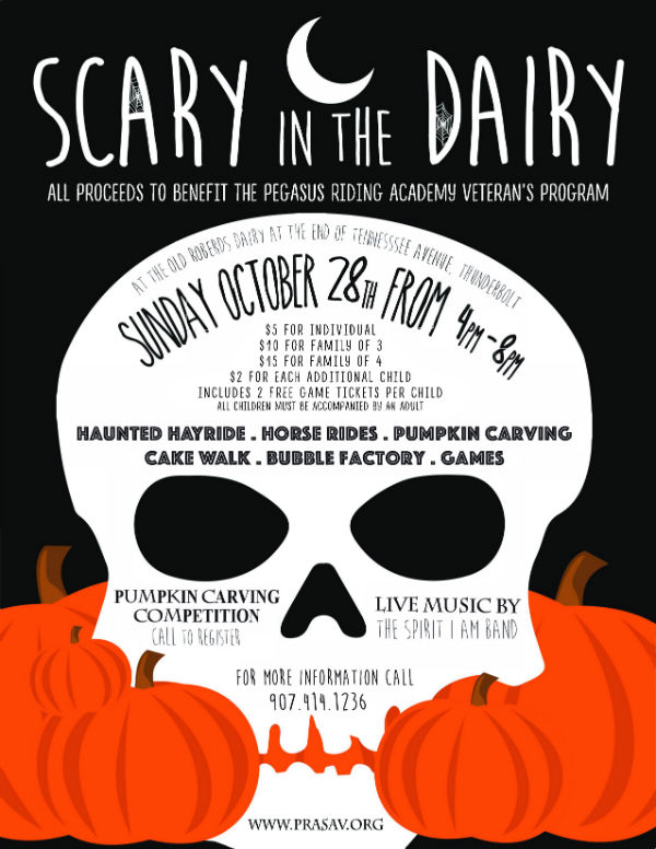 Scary in the Dairy 2018 Savannah