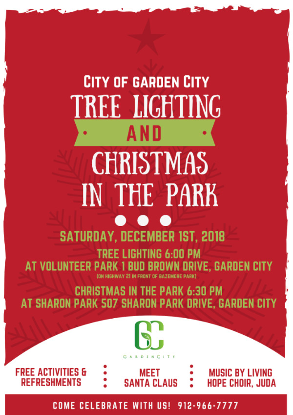 Garden City Christmas Tree Lighting