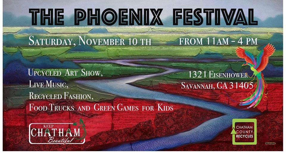 Free Phoenix Festival Savannah 2018
