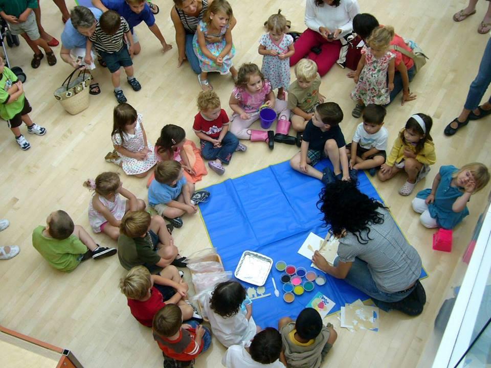 Art Start Toddler tour Savannah Jepson Telfair Museums
