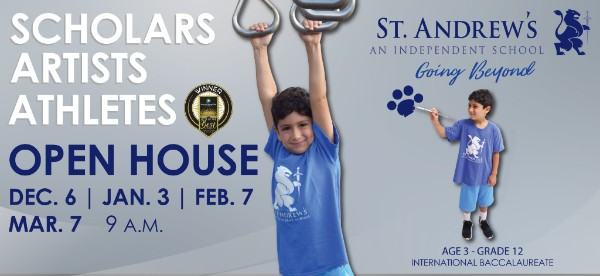 St Andrew's School private Savannah Wilmington Island