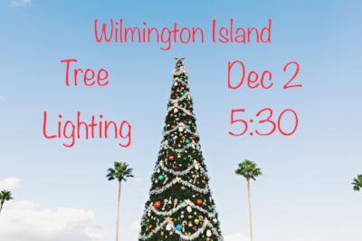 Wilmington Island Tree Lighting Savannah Holidays 2018