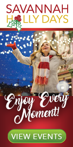 Savannah holidays events Holly Days #SavHollyDays
