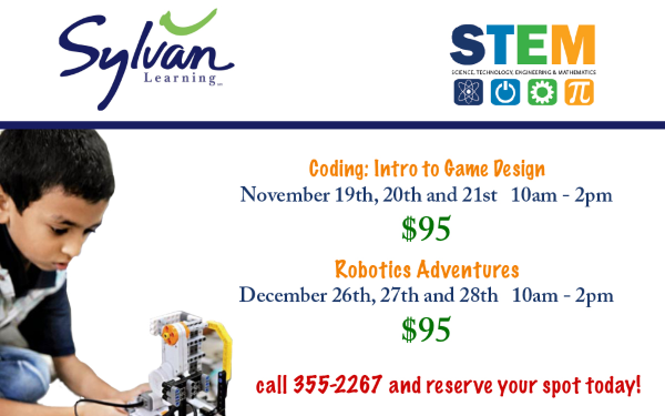 Sylvan tutoring coding class robotics Savannah