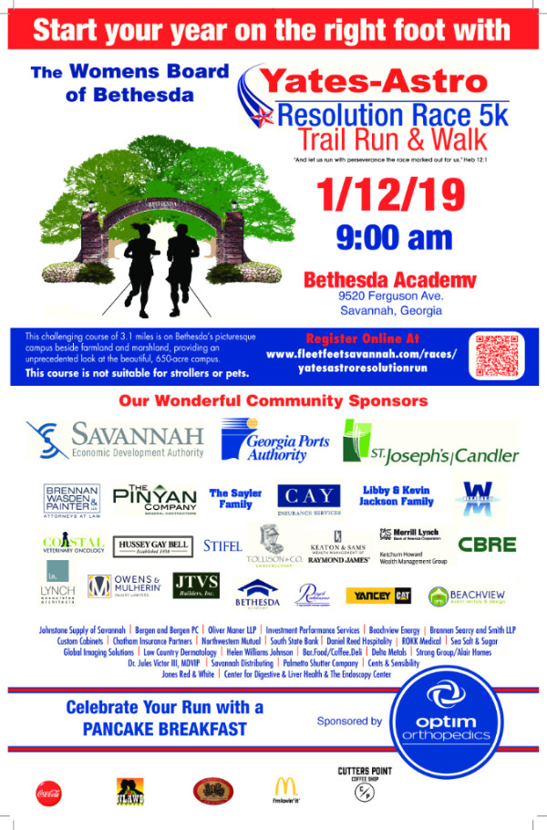 Bethesda Trail Run 2019 Savannah