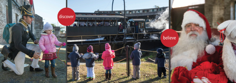 Santa Train Savannah 2018 Georgia State Railroad Museum