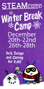 STEAM Camp Gaming Tech Design Savannah Guild