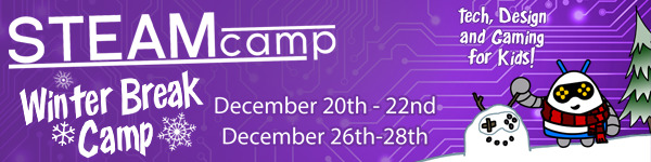 STEAM Holiday Camp Guild computer Savannah