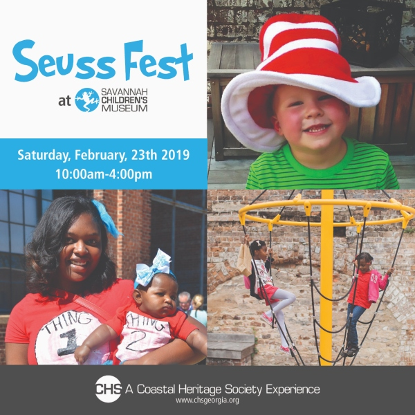 Seuss Fest 2019 Savannah children's Museum