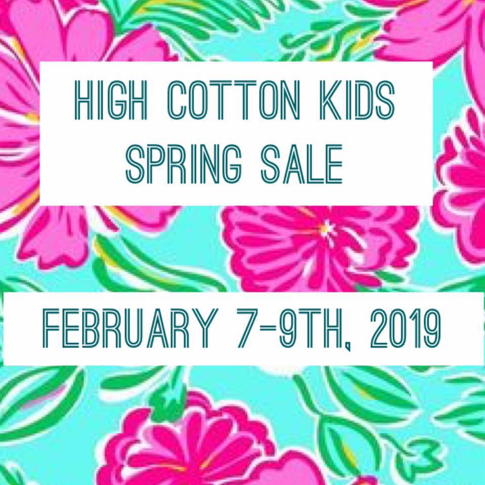 high cotton kids consignment sale savannah 2019 spring
