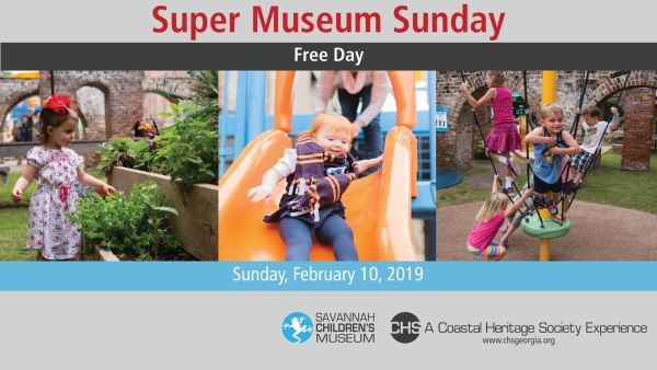 Super Museum Sunday Savannah 2019 free admission