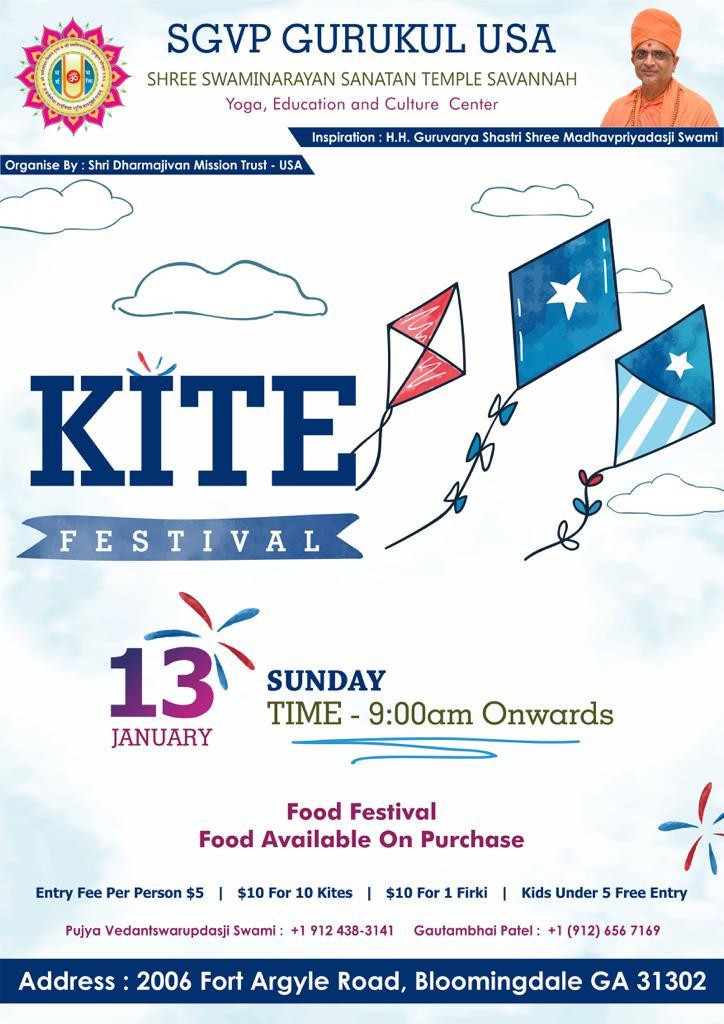 Kite Festival 2019 Savannah January