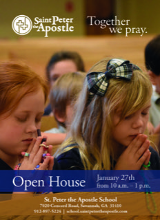 Open House St. Peter Apostle Wilmington Is.