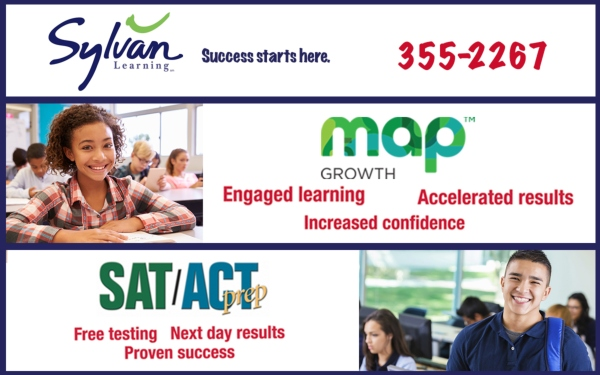 Sylvan tutoring Savannah MAP SAT/ACT test results learning