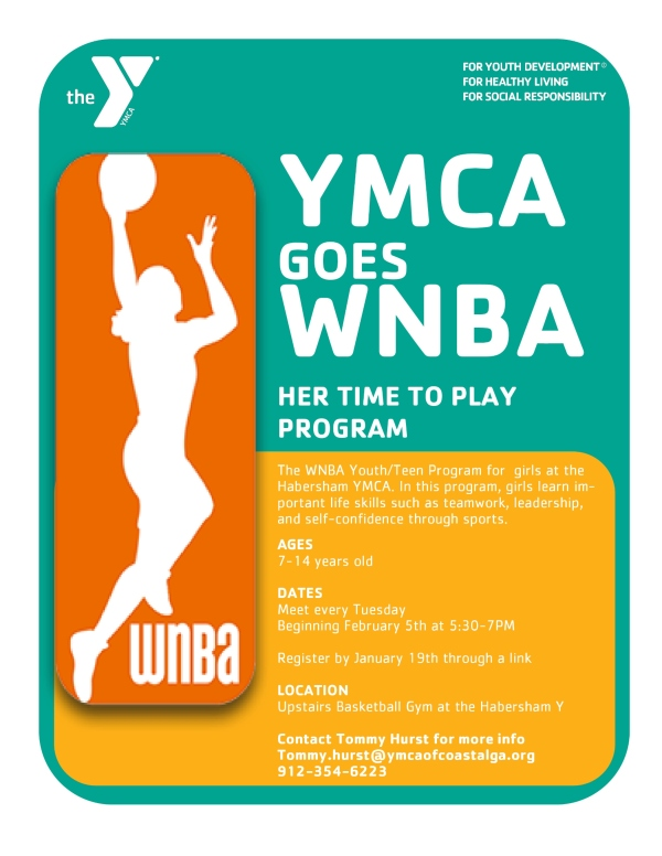 YMCA girls basketball Savannah youth kids