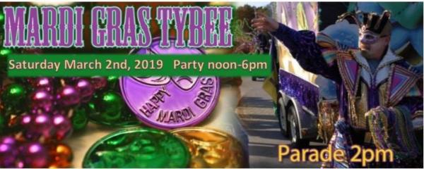 Tybee Mardi Gras Parade Savannah 2019