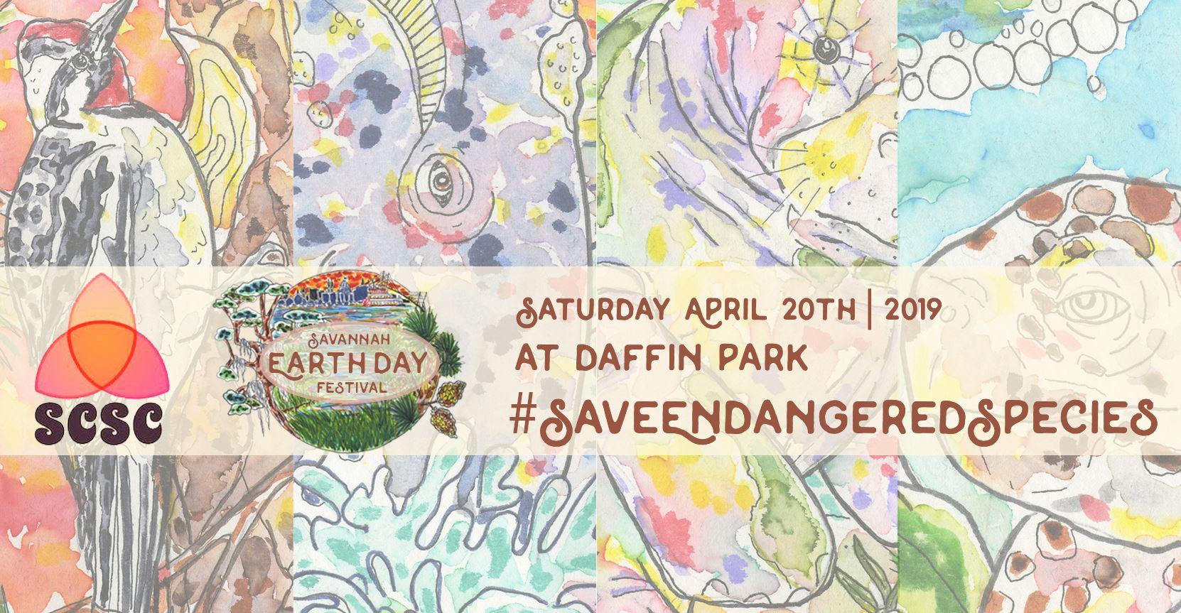 Savannah Spring Festivals 2019 Earth Day Daffin Park