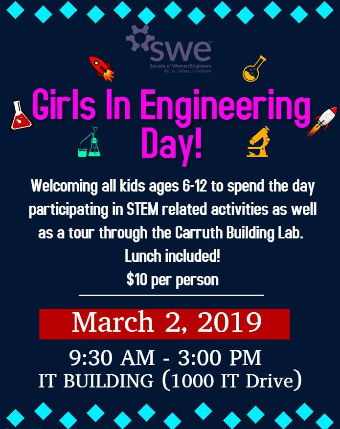 Girls in Engineering Day Statesboro 2019