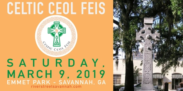 Celtic Ceol Feis St. Patrick's Savannah 2019 new