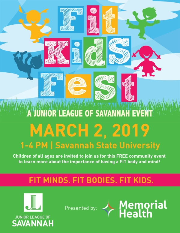Fit Kids Fest 2019 Savannah Junior League CrossFitHP