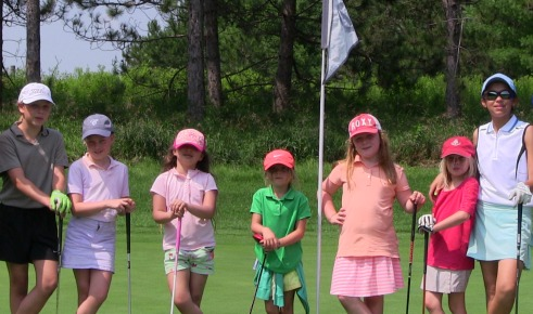 Girls Golf Savannah clinics 2019