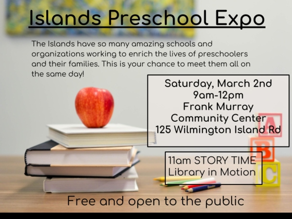 Islands Preschool Expo 2019 Wilmington Savannah Whitemarsh