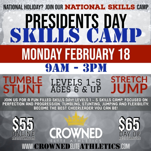 Presidents Day Camp Savannah 2019 Crowned Elite Athletics