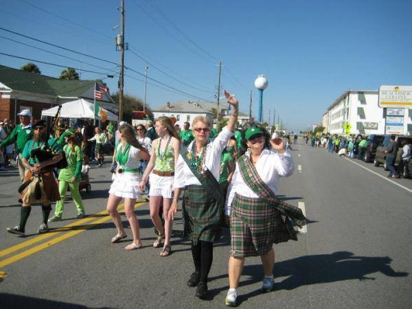 Tybee Irish Heritage Parade 2019 Savannah free