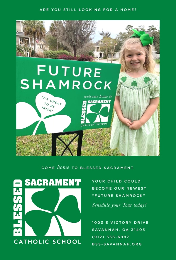 Savannah Schools Blessed Sacrament Catholic School prek kindergarten