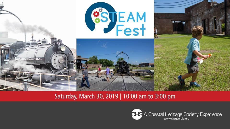 STEAM Fest Georgia State Railroad Museum Savannah Coastal Heritage Society