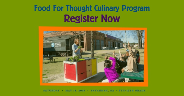 kids culinary program cooking savannah camp kudzu chatham county 2019