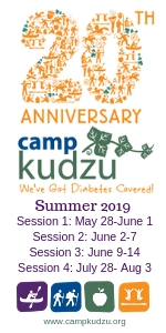 Camp Kudzu Diabetes Summer Camp 2019 Georgia