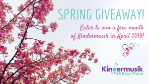 Kindermusik Savannah Spring Giveaway toddlers