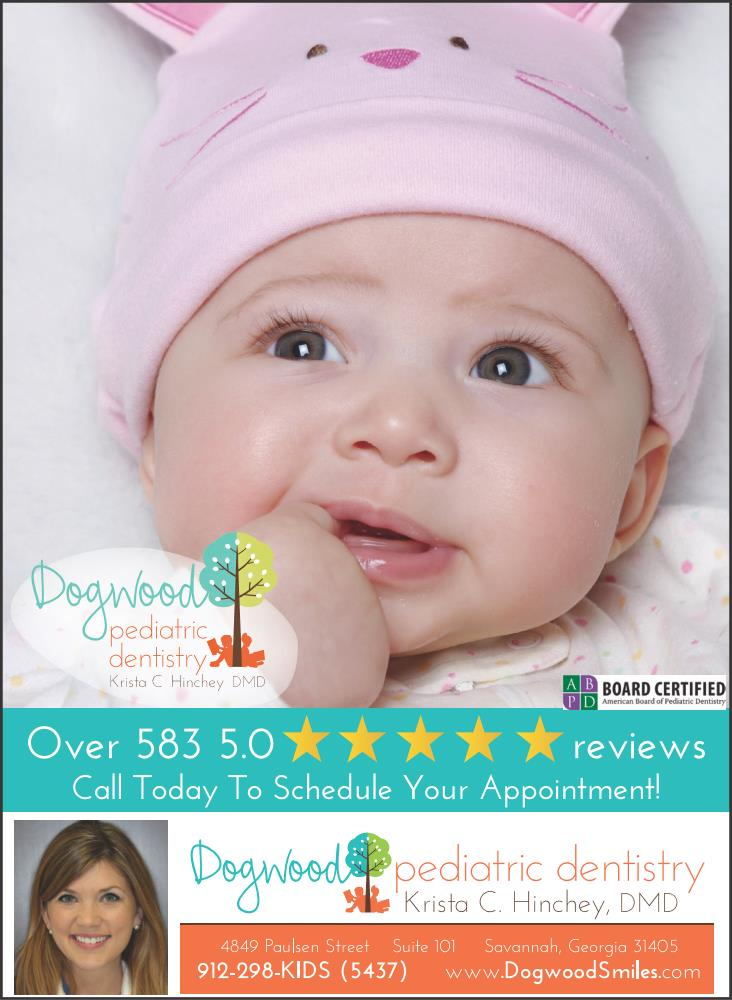 Savannah Pediatric Dentists Dogwood Dentistry Teething tips Chatham County Pooler