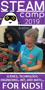 STEAM Camp Savannah Robotics Video Game Development