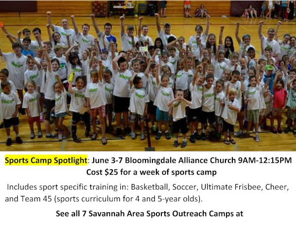 Bloomingdale sports camp savannah summer camps 2019