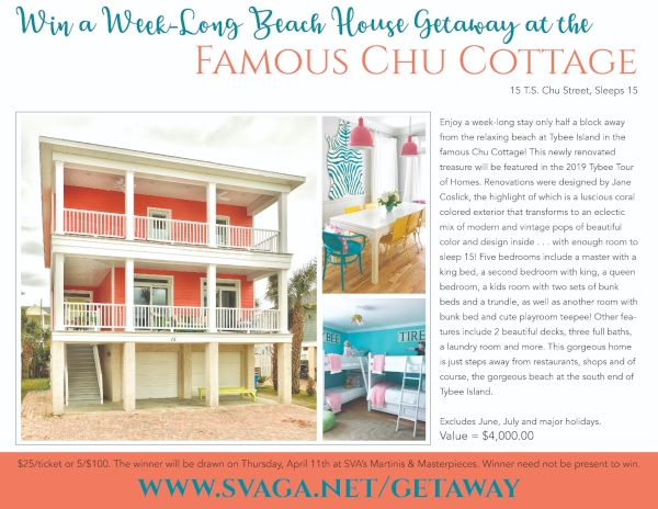 St. Vincent's Academy Chu Cottage Tybee Giveaway