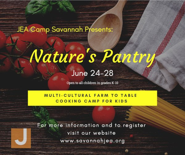 Cooking Summer Camps Chef JEA Savannah Chatham County