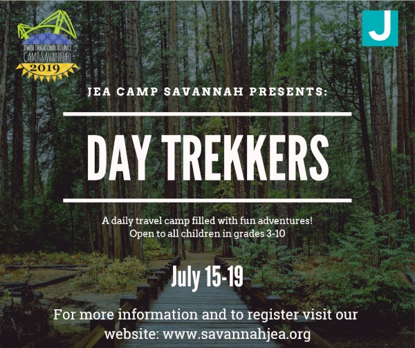 JEA Summer Camp Specialty Day Trekkers Savannah