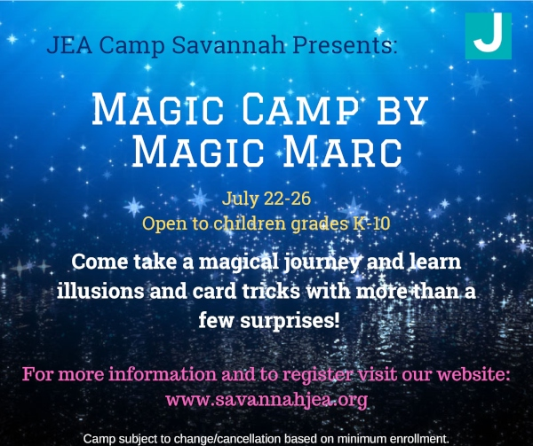Magic Camp Savannah summer Camps 2019