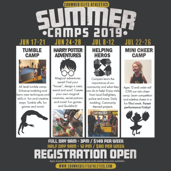 Summer Camps Savannah 2019 Crowned Elite Athletics