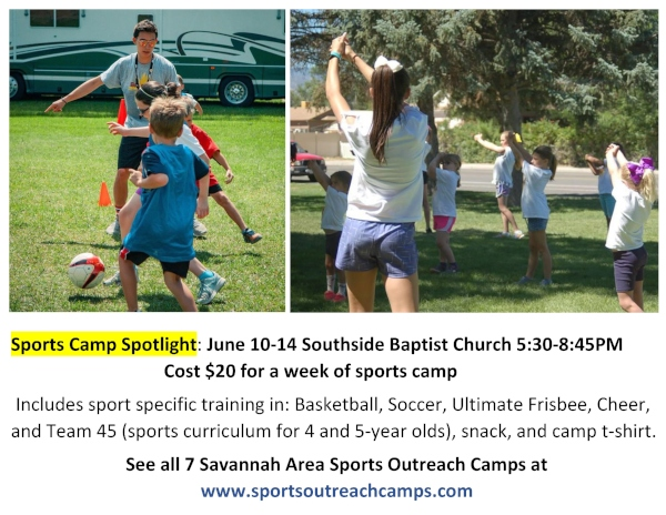 affordable sports summer camps 2019 Southside Baptist