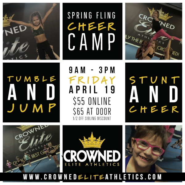 Crowned Elite Athletics Savannah Good Friday Tumbling Camp 2019 Easter