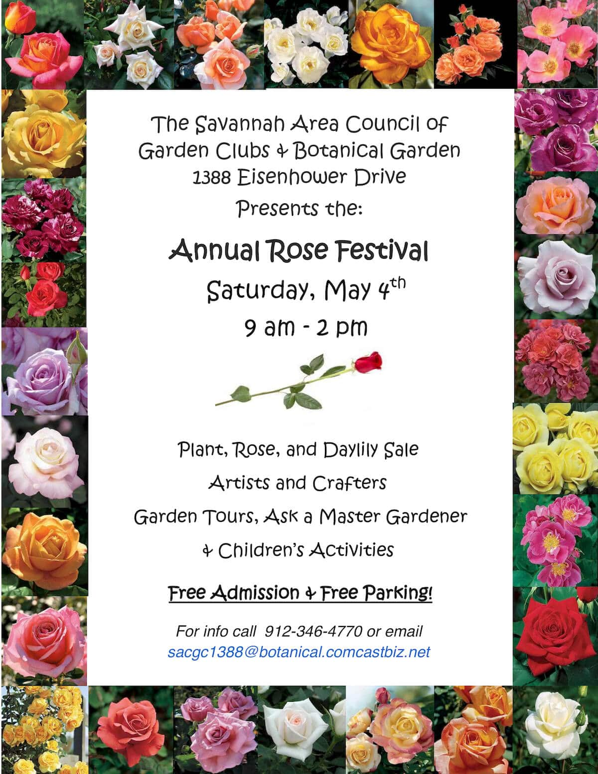 Annual Rose Festival 2019 Savannah