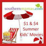 Kids Summer Movies $1 Savannah Pooler Bluffton