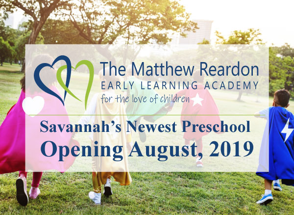 New Savannah preschool Matthew Reardon Early Learning Academy Savannah 2019